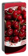 Beautiful Prosser Cherries Portable Battery Charger