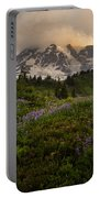 Beautiful Rainier Wildflower Meadows Portable Battery Charger