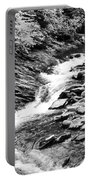 Beautiful Stream Smoky Mountains Bw Portable Battery Charger
