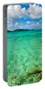 Beautiful Turquoise Water Portable Battery Charger
