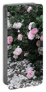 Beautiful Until The Last Petal Falls Portable Battery Charger