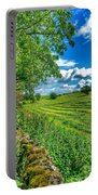 Summer View In Yorkshire Portable Battery Charger