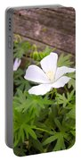 Beautiful Wild Geranium Portable Battery Charger