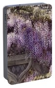 Beautiful Wisteria Portable Battery Charger