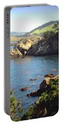 Beautifully Rugged Shoreline At Point Lobos Two Portable Battery Charger