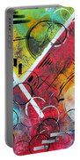 Beauty Amongst The Chaos By Madart Portable Battery Charger