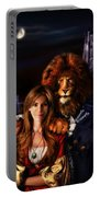 Beauty And The Beast Portable Battery Charger