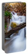 Stream At Sundown Portable Battery Charger