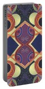 Beauty In Symmetry 1 - The Joy Of Design X X Arrangement Portable Battery Charger