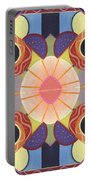 Beauty In Symmetry 4 - The Joy Of Design X X Arrangement Portable Battery Charger