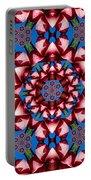 Beauty Of Aruba Kaleidoscope Portable Battery Charger