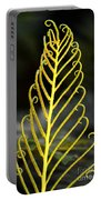 Beauty Of Nature Fern 3 Portable Battery Charger