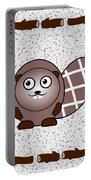 Beaver - Animals - Art For Kids Portable Battery Charger