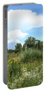 Beaver Creek Valley In Colorado Portable Battery Charger
