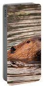 Beaver Feeding Portable Battery Charger