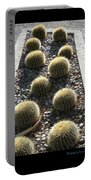 Bed Of Barrel Cacti  Portable Battery Charger
