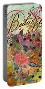 Bedazzled Portable Battery Charger by Amy Stewart