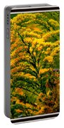 Bee And Goldenrod Portable Battery Charger