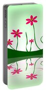 Bee Flowers Portable Battery Charger