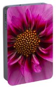 Bee Happy Dahlia Portable Battery Charger