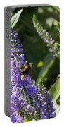 Bee Lavendar Portable Battery Charger