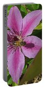Bee My Clematis Portable Battery Charger