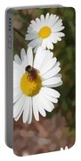 Bee On A Daisy Portable Battery Charger