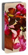 Bee On Pink Blossoms 031015ac Portable Battery Charger