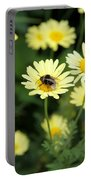 Bee On Yellow Portable Battery Charger