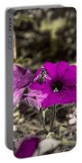 Bee To A Flower Portable Battery Charger