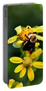 Bees At Work Portable Battery Charger