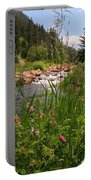 Bees Eye View Portable Battery Charger
