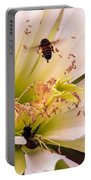 Bees In Blossom Portable Battery Charger