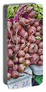 Beets At The Farmers Market Portable Battery Charger