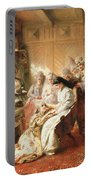 Before The Wedding, 1890 Oil On Canvas Portable Battery Charger