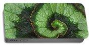 Begonia Leaf 2 Portable Battery Charger