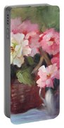 Begonias Portable Battery Charger