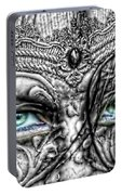 Behind Blue Eyes Portable Battery Charger