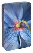Behind The Blue Poppy Portable Battery Charger