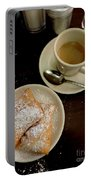 New Orleans Beignets And Coffee Au Lait  Portable Battery Charger
