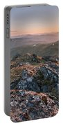 Sunset From Beinn Ghlas - Scotland Portable Battery Charger