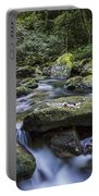 Belelle River Neda Galicia Spain Portable Battery Charger