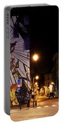 Belgium Street Art Portable Battery Charger by Juli Scalzi