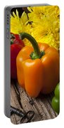 Bell Peppers And Poms Portable Battery Charger
