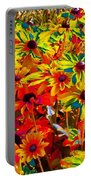 Bella Flora Painting Portable Battery Charger