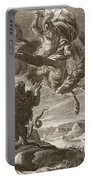 Bellerophon Fights The Chimaera, 1731 Portable Battery Charger