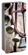 Bells In Sicily Portable Battery Charger by David Smith