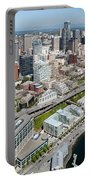 Belltown In Downtown Seattle Portable Battery Charger