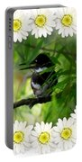 Belted Kingfisher In The Midst Portable Battery Charger