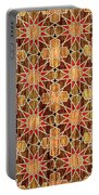 Ben Yusuf Madrasa Geometric Pattern Wood Portable Battery Charger